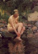 Anders Zorn Dagmar oil